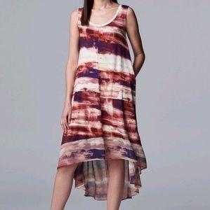 Simply Vera Vera Wang High-Low Dress